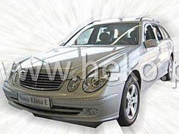 Ветровики MERCEDES E W211 Sedan - HEKO вставные 3