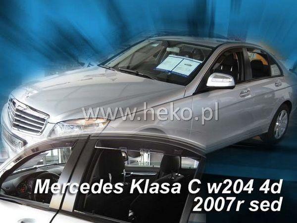 Ветровики MERCEDES W204 (07-14) Sedan HEKO