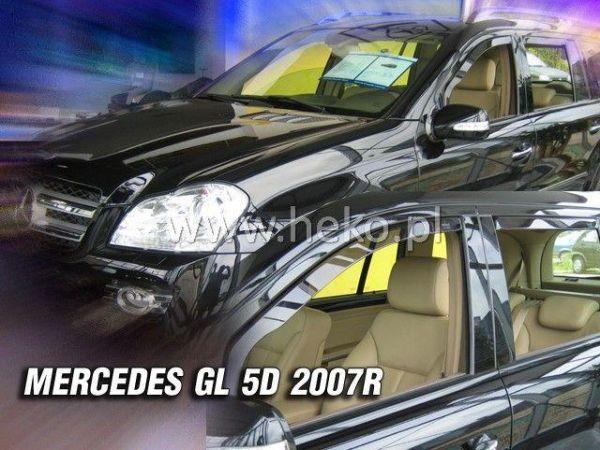Ветровики MERCEDES GL X164 (2006-2012) HEKO