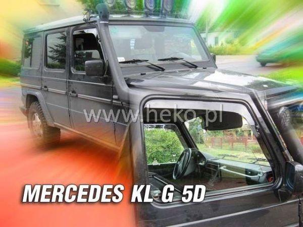 Ветровики MERCEDES KL G 3D / 5D HEKO