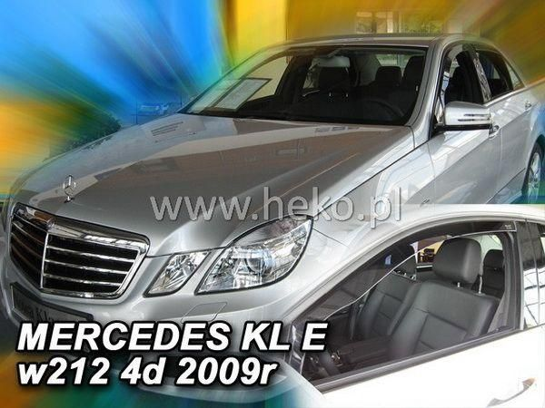 Дефлекторы окон MERCEDES E W212 Sedan - HEKO - передние