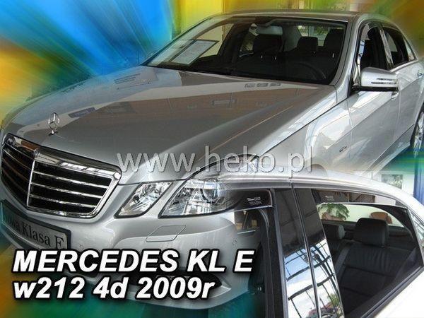 Дефлекторы окон MERCEDES E W212 Sedan - HEKO - задние