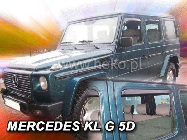 Ветровики MERCEDES G-Class W463 5D - Heko 1