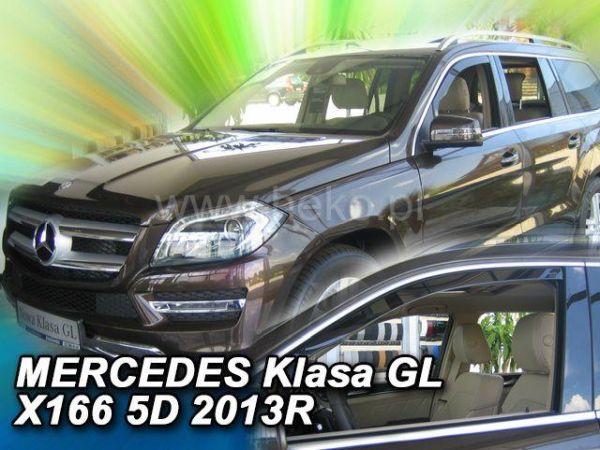 Ветровики MERCEDES GL / GLS X166 (2013-) - HEKO - передние