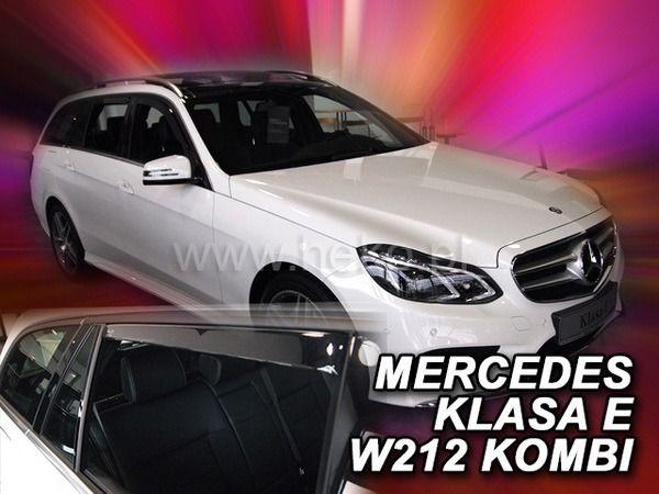 Ветровики MERCEDES E W212 Combi - HEKO - задние