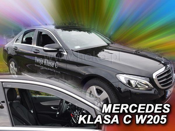 Ветровики MERCEDES C W205 (2014-) Sedan - HEKO - передние