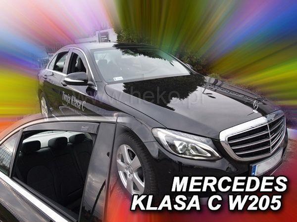 Ветровики MERCEDES C W205 (2014-) Sedan - HEKO - задние