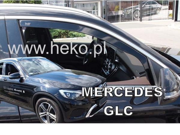Ветровики MERCEDES GLC X253 - Heko 3