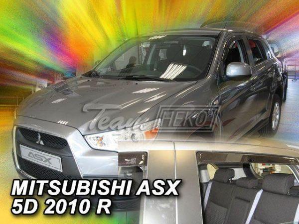 Ветровики вставные MITSUBISHI ASX (2010-) 5D - HEKO - задние