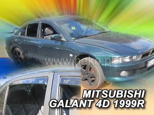 Дефлекторы окон MITSUBISHI Galant 8 (97-03) Wagon HEKO