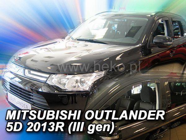 Ветровики MITSUBISHI Outlander III (2013-) HEKO