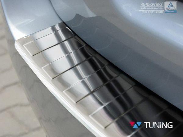 Накладка на задний бампер (сталь, Польша) BMW F11 (2010-) Touring