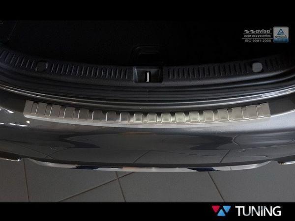 Полированная накладка на задний бампер MERCEDES W213 Sedan