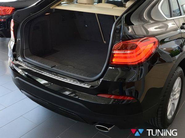 Защитная накладка бампера BMW X4 F26 (2014-) - AVISA - фото #2