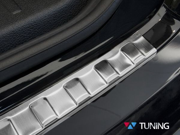 Защитная накладка бампера BMW X4 F26 (2014-) - AVISA - фото #3