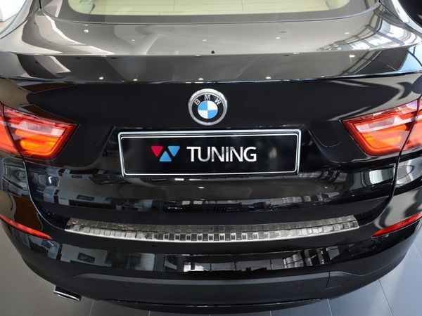 Защитная накладка бампера BMW X4 F26 (2014-) - AVISA - фото #4