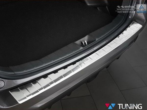 Накладка на задний бампер MITSUBISHI ASX (2017-) рестайл - AVISA 1