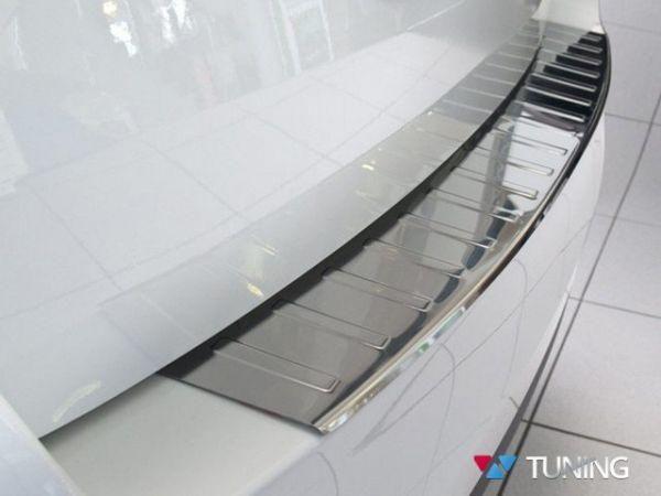 Стальная накладка на бампер SKODA Octavia A7 Combi - AVISA