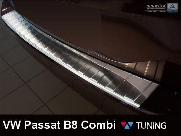 Накладка на бампер VW Passat B8 (2015-) Combi - AVISA