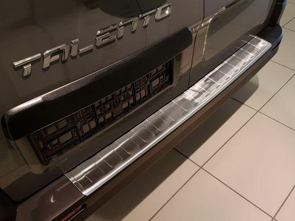 Накладка на задний бампер RENAULT Trafic III (2014-) - Avisa 1