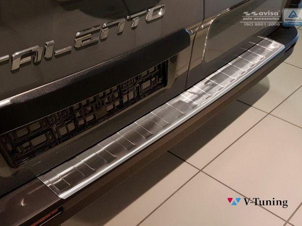 Накладка на задний бампер OPEL Vivaro B (2014-) - AVISA 1