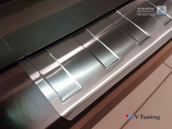 Накладка на задний бампер OPEL Vivaro B (2014-) - AVISA 2