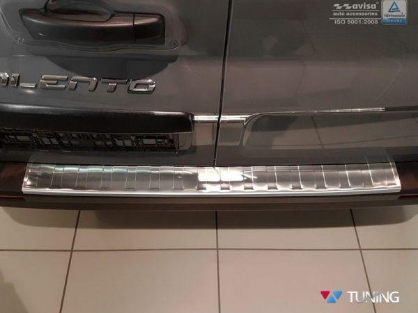 Накладка на задний бампер RENAULT Trafic III (2014-) - Avisa 4