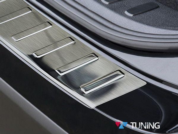 Стальная накладка на бампер BMW X1 E84 рестайл Польша