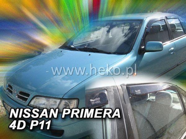 Ветровики NISSAN Primera P11 (1995-2002) Sedan HEKO