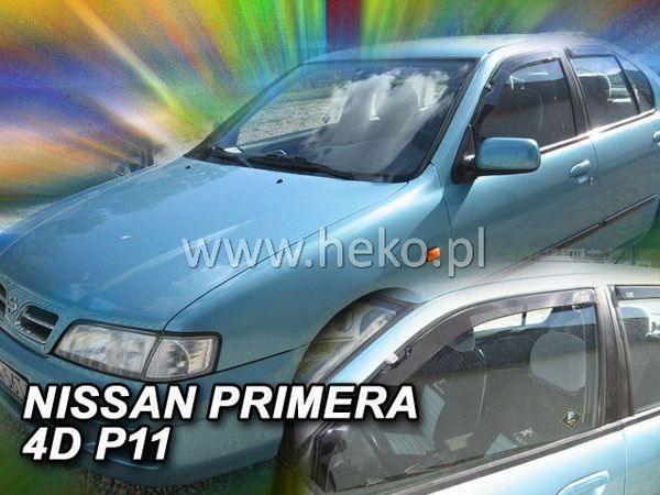 Ветровики NISSAN Primera P11 (95-02) Sedan HEKO