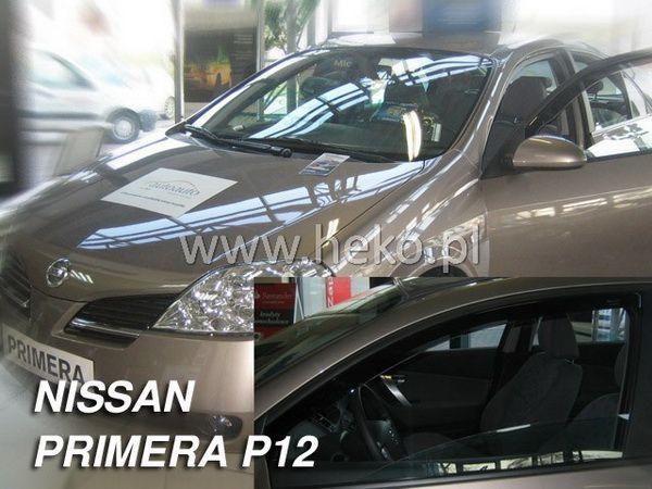 Ветровики вставные NISSAN Primera P12 (2002-2008) Sedan/Hatchback HEKO