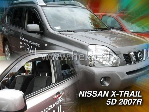 Ветровики вставные NISSAN X-Trail T31 (07-13) HEKO