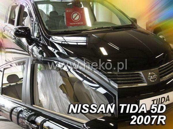 Ветровики NISSAN Tiida C11 (04-11) Hatchback HEKO