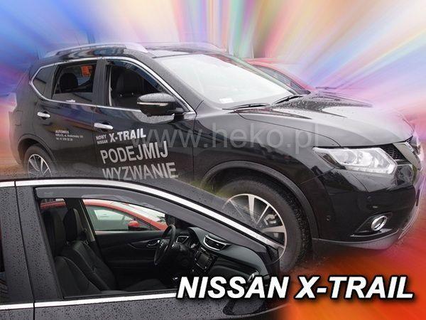 Ветровики NISSAN X-Trail T32 (2014-) - HEKO - передние