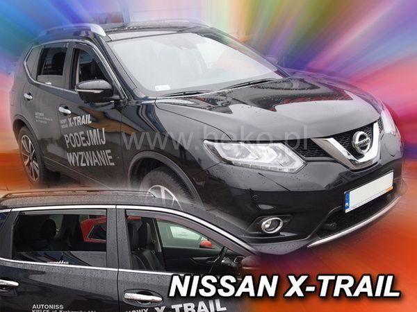 Ветровики NISSAN X-Trail T32 (2014-) 5D HEKO