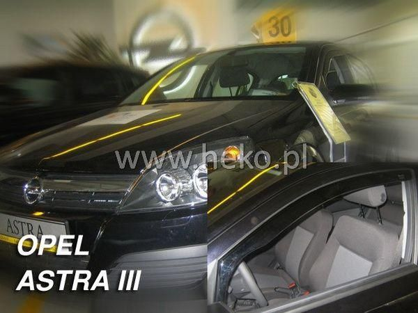 Ветровики OPEL Astra H GTC 3D HEKO