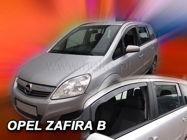 Дефлекторы окон OPEL Zafira B (2005+) - Heko 2