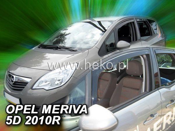 Ветровики OPEL Meriva B (2010-) 5D HEKO