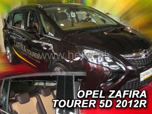 Ветровики OPEL Zafira Tourer C (2011-) HEKO