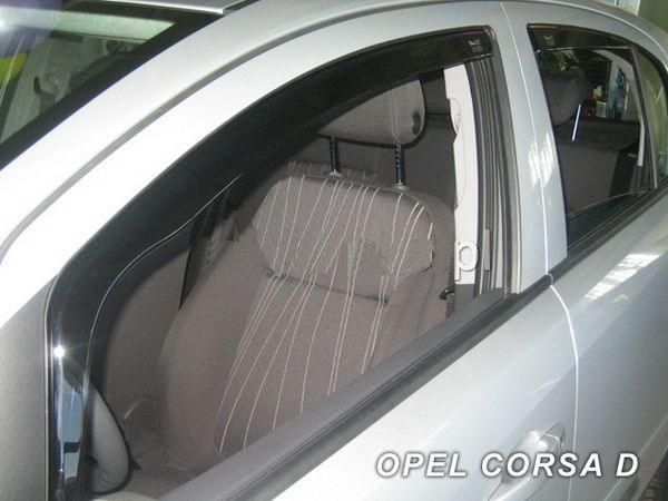 Ветровики OPEL Corsa D (2006-2014) 5D HEKO