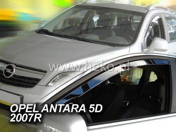 Ветровики вставные OPEL Antara (2007-) 5D HEKO