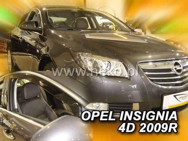 Ветровики OPEL Insignia (2008-) Sedan HEKO