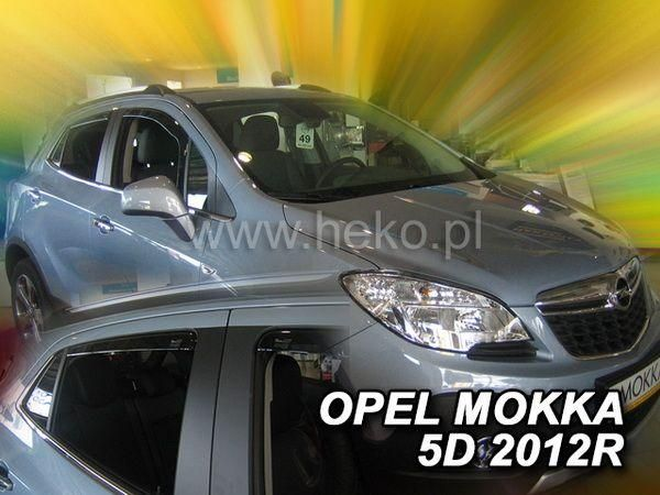 Ветровики OPEL Mokka (2012-) 5D HEKO