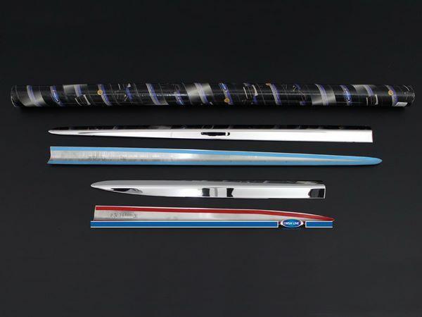 Хром молдинг дверной FIAT 500X (2015-)