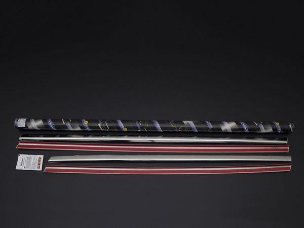Хром нижние молдинги стёкол FIAT 500X (2015-)