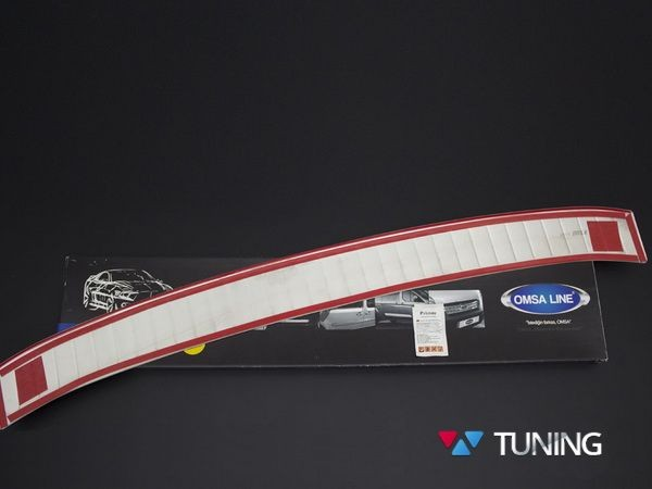 Хром накладка на задний бампер FORD Kuga II (2013-) - OMSA - комплект