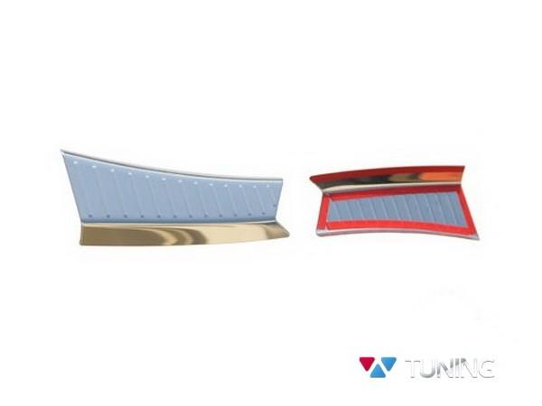 Защитные накладки на порог багажника FORD Kuga II (2013-) - белая 4