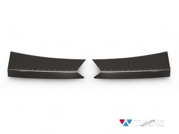 Защитные накладки на порог багажника FORD Kuga II (2013-) - чёрная