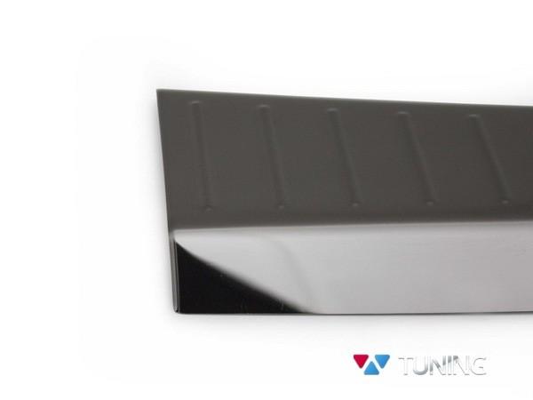 Защитные накладки на порог багажника FORD Kuga II (2013-) - чёрная 3