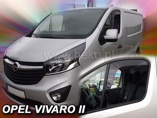 Ветровики OPEL Vivaro II (2014-) HEKO